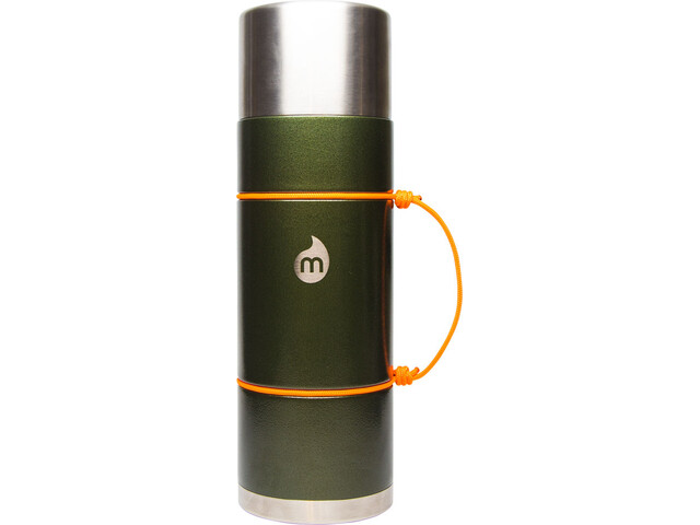 MIZU V10 Insulated Bottle with LE Drip 1000ml Army Green Hammer Paint